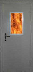 Противопожарные двери с остеклением менее 25% EI-60