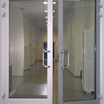 Противопожарные двери остекление более 25% EIW60