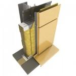 Стеновые сэндвич-панели Облицовка фасадными кассетами