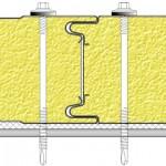 Способ крепления сендвич-панелей Airpanel ® Z